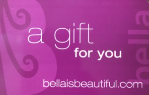 Bella Gift Card